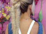 Cute Girls Hairstyles Ladder Braid Braided Ponytail Ideas 40 Cute Ponytails with Braids
