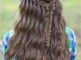 Cute Girls Hairstyles Ladder Braid Scissor Waterfall Braid Bo and More Hairstyles From