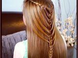 Cute Girls Hairstyles Mermaid Braid Waterfall Twists Into Mermaid Braid