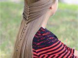 Cute Girls Hairstyls Mermaid Half Braid Hairstyles for Long Hair