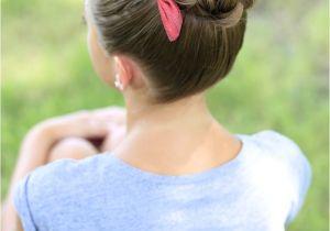 Cute Gurls Hairstyles Pancaked Bun Of Braids Updo Hairstyles