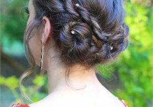 Cute Gurls Hairstyles Rope Twist Updo Home Ing Hairstyles