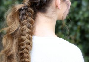 Cute Gurls Hairstyles the Viking Braid Ponytail Hairstyles for Sports