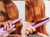 Cute Hairstyles after Straightening Your Hair Easy Flat Iron Waves Tutorial Hair Short to Medium