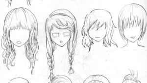 Cute Hairstyles Drawing Pin by Gaby On Cute Drawing Ideas