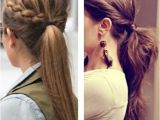 Cute Hairstyles for 2nd Day Hair Cute Pony Tails Things I Love Pinterest
