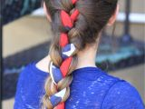 Cute Hairstyles for 4th Of July 3 Minute Scarf Braid 4th Of July Hairstyles