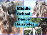 Cute Hairstyles for A School Dance Middle School Dance Hairstyles
