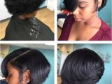 Cute Hairstyles for Black Girls with Short Hair Silk Press and Cut Short Cuts Pinterest
