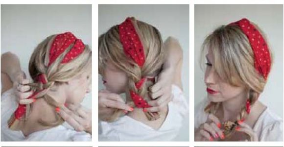 Cute Hairstyles for Camping 16 Beautiful Hairstyles with Scarf and Bandanna Pretty