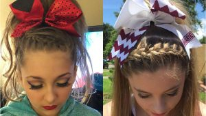 Cute Hairstyles for Cheer Absolutely Cute Cheer Hairstyles Any Cheerleader Will Love