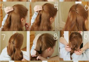 Cute Hairstyles for Clip In Extensions the 9 Most Flattering 5 Minutes Easy Messy Up Do for Daily