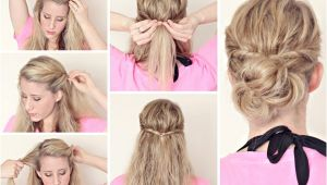 Cute Hairstyles for Damp Hair Hairstyle Tutorials for Wet Hair Page 3
