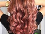Cute Hairstyles for Dyed Tips 20 Brilliant Rose Gold Hair Color Ideas