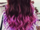 Cute Hairstyles for Dyed Tips Pretty Ombre Hair Pinterest