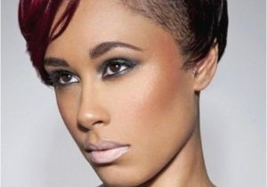 Cute Hairstyles for Half Shaved Head Half Shaved Head Short Hairstyles for Girls
