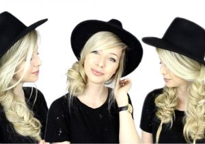Cute Hairstyles for Hats 3 Easy Hairstyles for Hats