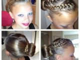 Cute Hairstyles for Ice Skating Braids Into Bun Figure Skating Hair Ice