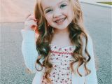 Cute Hairstyles for Little Girls with Long Hair Little Girl Hairstyle Long Hair Curls Curled Wavy Beach Waves