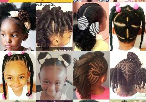 Cute Hairstyles for Natural Straight Hair 20 Cute Natural Hairstyles for Little Girls