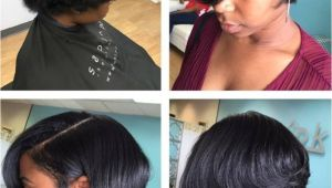 Cute Hairstyles for Short Hair Black Girl Silk Press and Cut Short Cuts Pinterest