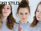 Cute Hairstyles for Shoulder Length Hair for School Medium Length Hair Quick Hairstyles for School Medium