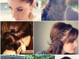 Cute Hairstyles In 5 Minutes 15 Hairstyles You Can Do In Less Than 5 Minutes Ma