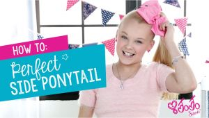 Cute Hairstyles Jojo Siwa How to Create the Perfect Jojo Siwa Side Ponytail