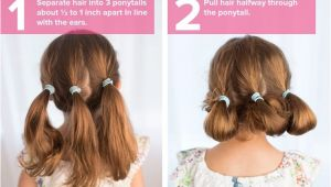 Cute Hairstyles Like Buns 5 Fast Easy Cute Hairstyles for Girls Hair