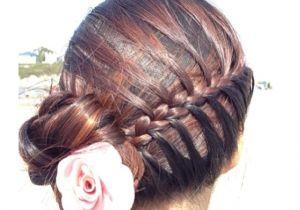 Cute Hairstyles Mermaid Cute Bride or Bridesmaid Hair Style It S A Side Mermaid Braid