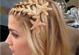 Cute Hairstyles Mermaid Love the Starfish Clips Hair Pinterest