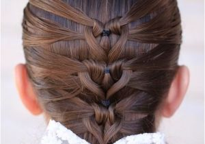 Cute Hairstyles Mermaid Mermaid Heart Braid Valentine S Day Hairstyle Instructions and