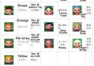 Cute Hairstyles On Animal Crossing New Leaf 7 Best Acnl Guides Images
