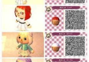 Cute Hairstyles On Animal Crossing New Leaf Animal Crossing New Leaf Hair Qr Codes Google Search