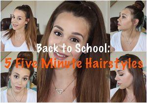 Cute Hairstyles Rclbeauty101 5 Easy Hairstyles for School Rclbeauty101 5 Easy Back to School