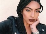 Cute Hairstyles to Do with Box Braids 50 Exquisite Box Braids Hairstyles to Do Yourself