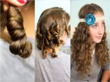 Cute Hairstyles to Do with Curly Hair Lazy Day Hairstyles for School