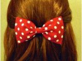 Cute Hairstyles to Wear with Mickey Ears 22 Best Minnie Mouse Hairstyle Images On Pinterest