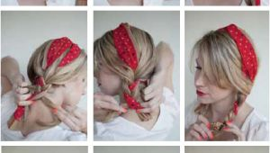 Cute Hairstyles Using A Bandana 16 Beautiful Hairstyles with Scarf and Bandanna
