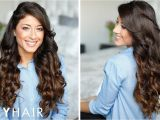 Cute Hairstyles when You Curl Your Hair How to Curl Your Hair In 5 Minutes