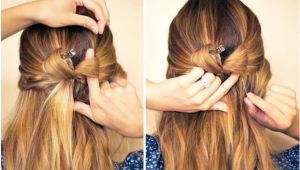 Cute Hairstyles with Bows 19 Pretty Long Hairstyles with Tutorials Pretty Designs