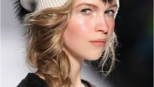 Cute Hairstyles with Hats Cute Cozy Hat Hairstyles to Try This Fall