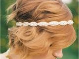 Cute Hairstyles with Headbands 30 Wedding Hair Styles for Short Hair