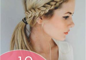 Cute Hairstyles with Just A Hair Tie 20 Easy and Quick Braided Hairstyles Anyone Can Pull F