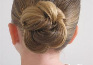 Cute Hairstyles with Just A Hair Tie Loopy Looking Bun Did It
