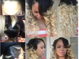 Cute Hairstyles with Sew Ins Sew In Cute Curly Ombred [style It] Pinterest