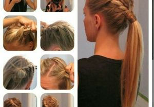 Cute Hairstyles with Steps 15 Cute and Easy Ponytail Hairstyles Tutorials Popular