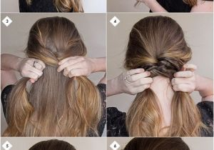 Cute Hairstyles with Steps Easy Hairstyles for Long Hair Step by Step