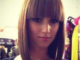 Cute Hairstyles with Straight Across Bangs 15 Cute Short Straight Hairstyles