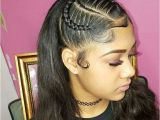 Cute Hairstyles with Weave Braids Cute Weave Braided Hairstyles